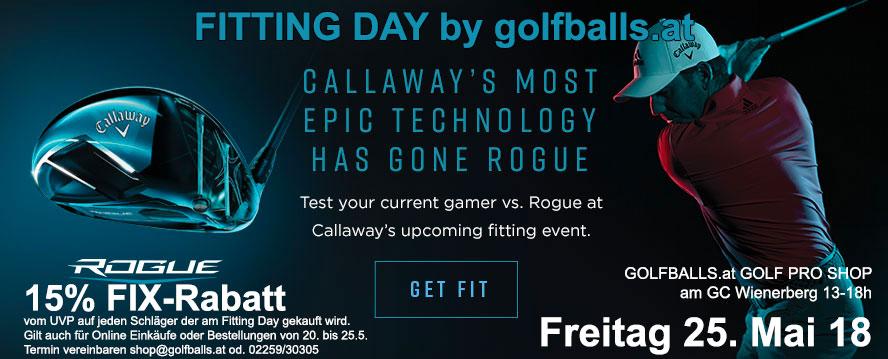 Fitting Day Callaway Mai2018