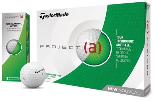 Taylormade PROJECT (a) 2018 - Weiß NEU - 12erPack