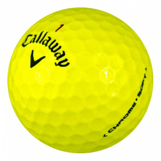 Callaway Chrome Soft Yellow | AAAA/AAA