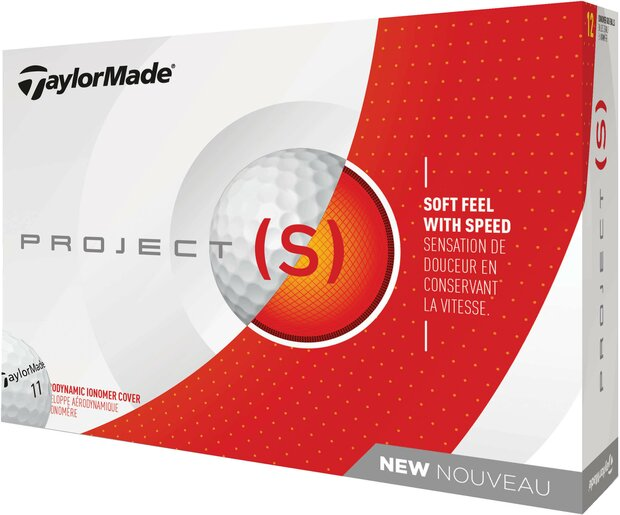 Taylormade PROJECT (S) 2018 - Weiß NEU - 12erPack