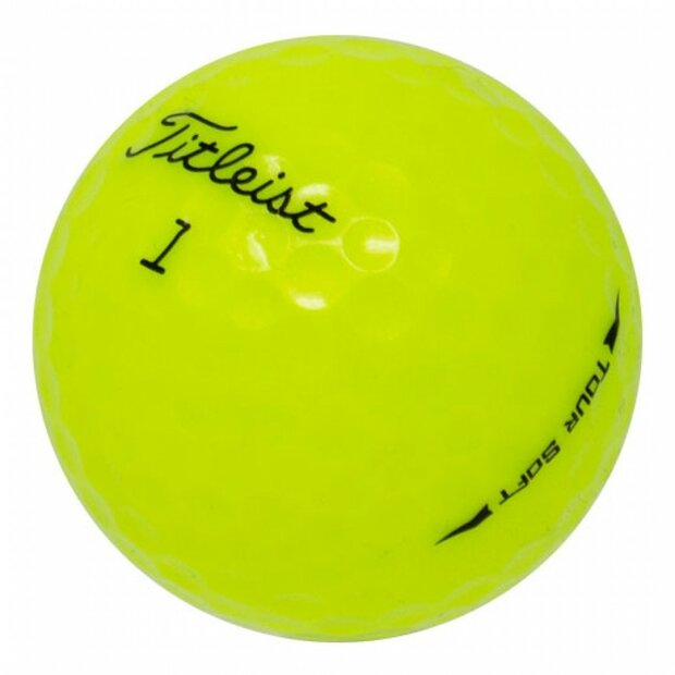 Titleist Tour Soft Yellow only  | AAAA/AAA
